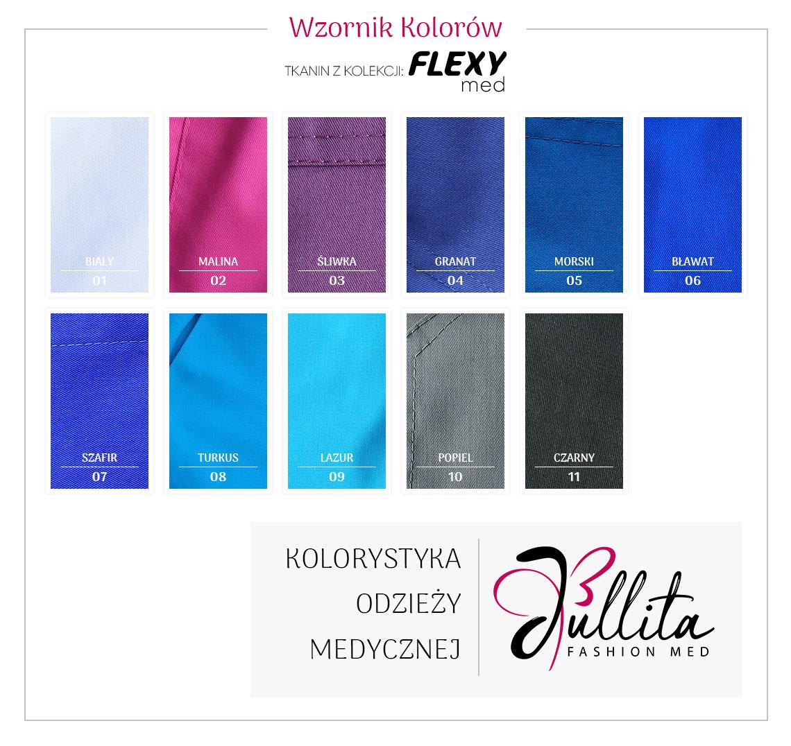 wzornik kolorow Jullita - Flexy Med
